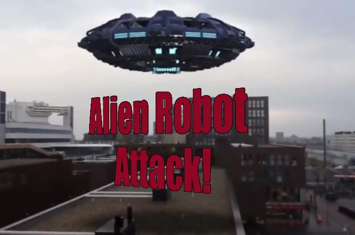 Alien Robot Attack